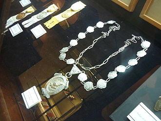 Rector Magnificus of the University of Santo Tomas - Leonardo Legaspi's Collar