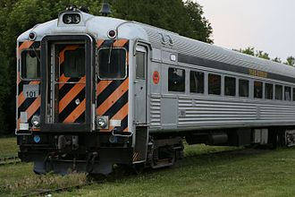 York–Durham Heritage Railway - The Budd cars were converted from Rail Diesel Cars to coaches in 2008