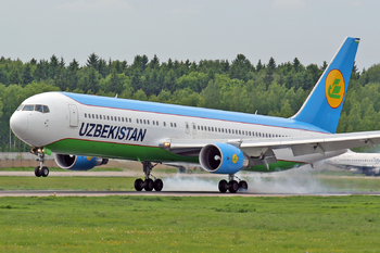 Uzbekistan Airways Boeing 767-300ER DME 2006-6-3.png