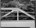 VIEW OF RIVER JOINT AT HIP - North Carolina Route 1334 Bridge, Spanning Deep River, Jamestown, Guilford County, NC HAER NC,41-JAMTO.V,2-4.tif