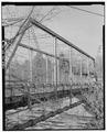 VIEW TO NORTHEAST. VERTICALS. - Bridge Street Bridge, Spanning Milwaukee River, Grafton, Ozaukee County, WI HAER WIS,45-GRAF,1-8.tif