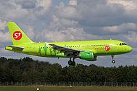 VP-BHI - A319 - S7 Airlines