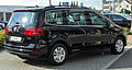 VW Sharan II 2.0 TDI BlueMotion Technology Comfortline rear 20100905.jpg