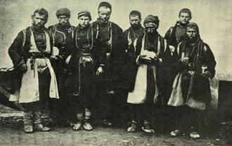 History of the Aromanians - Macedonian Vlachs, circa 1914.