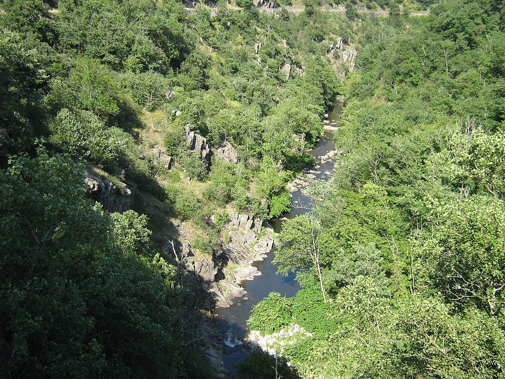 La vallée de la Cance en Ardèche