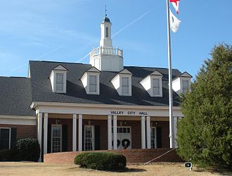 Valley, Alabama - Valley City Hall