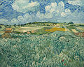 Van Gogh - Ebene bei Auvers mit Regenwolken.jpeg
