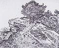 Van Gogh - Felshügel mit Bäumen - Montmajour.jpeg