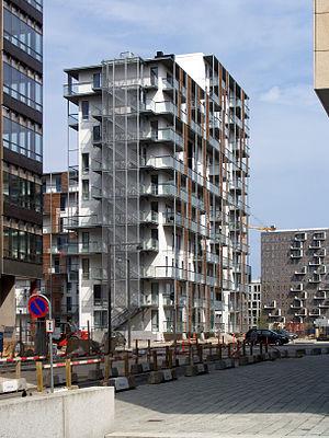 Ørestad - Residential building in Ørestad City, by Tegnestuen Vandkunsten architects