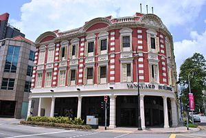 Stamford Road - Vanguard Building, Stamford Road