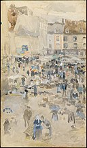Variations in Violet and Grey—Market Place, Dieppe MET DT4701.jpg