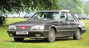 Opel Senator - Image: Vauxhall Senator with war poppies registered August 1985 2968cc