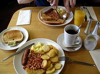 Little Chef - A Little Chef breakfast in 2007