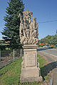 Velký Třebešov socha svaté Trojice.JPG