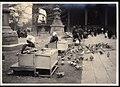 Venders of pigeons' bait at a Shrine grounds premises of Japan (1911 by Elstner Hilton).jpg