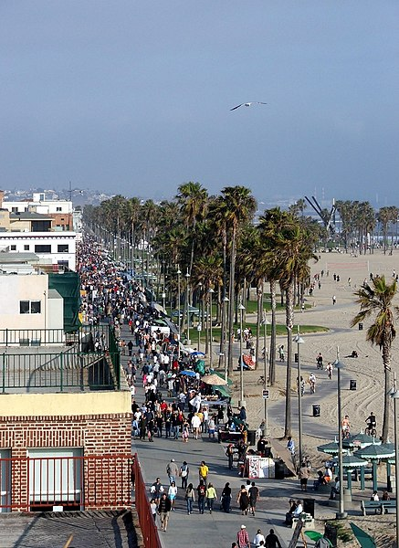File:Venice Beach from above.jpg
