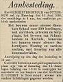 Venloosch Weekblad vol 028 no 024 Aanbesteding openbare school met onderwijzerswoning in Ottersum.jpg