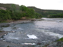 Part of the Verdal river (Verdalselva). Verdalselva.JPG