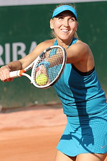 Elena Vesnina Russian tennis player