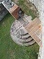 Veszprém 2016, Margit-romok, a nyugati bejárat lépcsői.jpg
