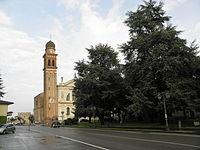 Via Roma e Duomo (Candiana).JPG