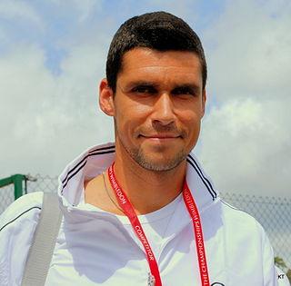 Victor Hănescu Romanian tennis player