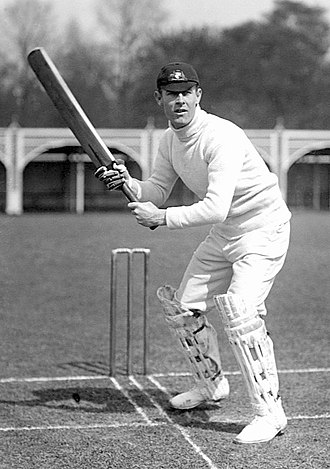 Australian Cricket Hall of Fame - Image: Victor Trumper c 1905