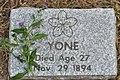 Victoria, BC - Ross Bay Cemetery - gravestone near Japanese pioneer memorial 01 (20471680781).jpg