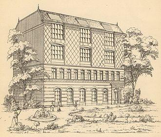Georgina Archer - The Victoria Lyceum in 1893
