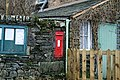Victorian Letterbox at Longthwaite - geograph.org.uk - 713570.jpg