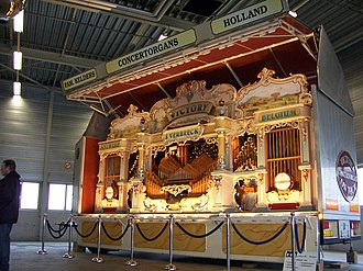 "Fairground organ - J.Verbeeck ""Victory"" Fairground organ"