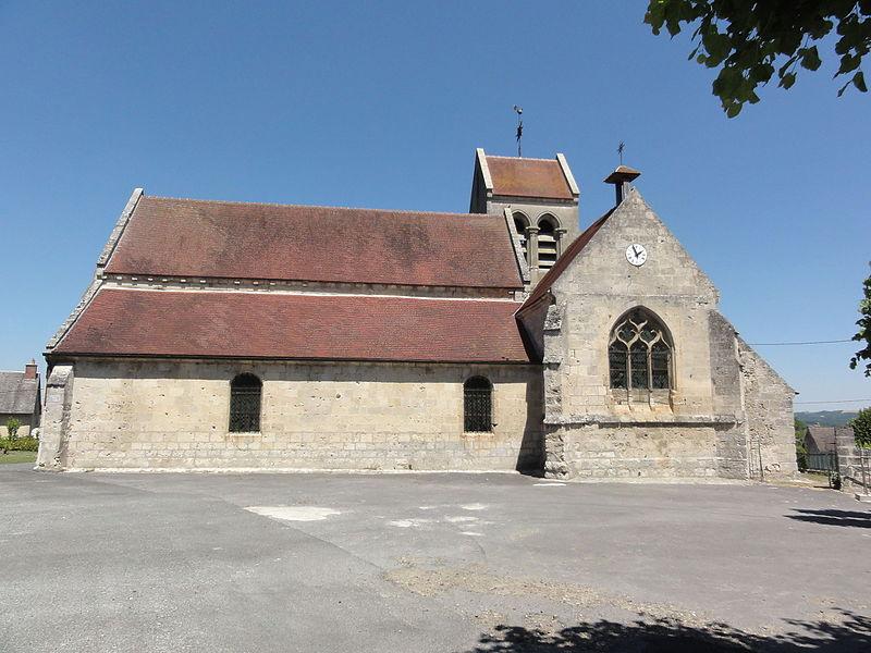 Viel-Arcy (Aisne) église