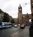 View along Foyle Street towards the Guild Hall - geograph.org.uk - 1512980.jpg