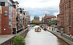 View east from City Road Bridge, Chester.jpg