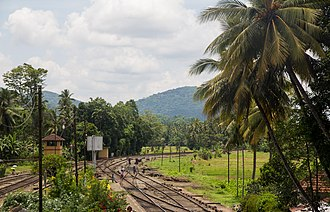 Rambukkana railway station - View from Rambukkana Railway Station