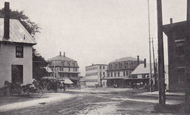 View of Central Square, Bristol, NH
