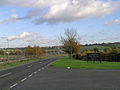 View of M11 motorway and Hobbs Cross Golf Course - geograph.org.uk - 279097.jpg