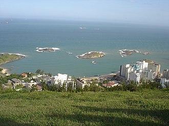 Espírito Santo - View of Vila Velha.