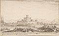 View of Motrone Castle (before its demolition around 1692) MET DP808208.jpg