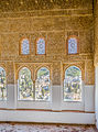 View through windows at Nasrid Palaces over Granada 2014.jpg