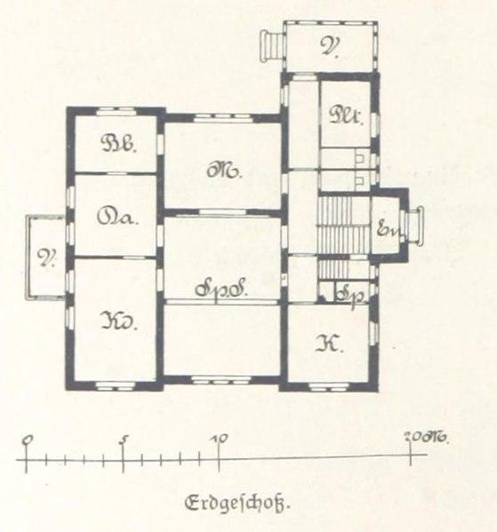 file villa dr julius gensel leipzig hillerstra e 3 grundriss leipzig und seine bauten. Black Bedroom Furniture Sets. Home Design Ideas