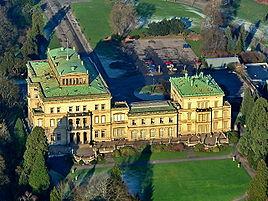 Villa Hügel near the river Ruhr