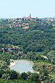 Village in the distance in Piemonte, Italy.jpg