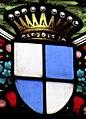 Villeréal - Église Notre-Dame - Vitrail gauche du chœur - Blason de la famille Montagu de Mondenard.jpg