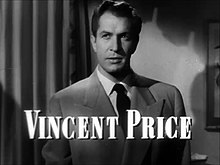 L'actor estatounitense Vincent Price, en una scena d'a cinta Laura (1944).