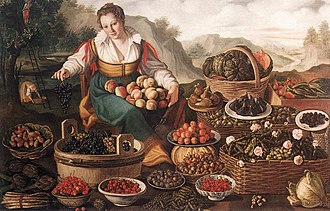 1580 in art - Image: Vincenzo Campi The Fruit Seller