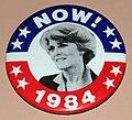 Vintage Geraldine Ferraro For Vice President 1984 Campaign Pinback Button (21892061646).jpg