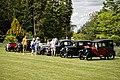 Vintage car display at Easton Lodge Gardens, Little Easton, Essex, England.jpg