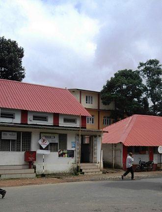 Virajpet - Image: Virajpet Post Office