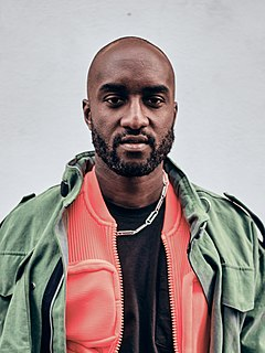 Virgil Abloh American fashion designer, entrepreneur, artist and DJ